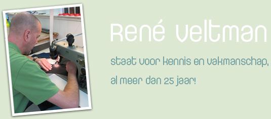 René Veltman staat voor kennis en vakmanschap